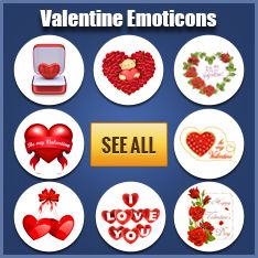 Valentine Emoticons