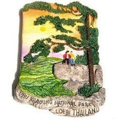 Phu Kradung National Park Thailand Souvenir 3D High Quality Resin 3D fridge Refrigerator Thai Magnet Hand Made Craft        . Free Shipping Check Price >> http://www.amazon.com/National-Refrigerator-Thai-Magnet-Craft/dp/B00A8M38CW