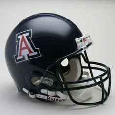These helmets are slightly smaller than the Collegiate Authentic helmet. This deluxe helmet comes with decorative internal padding, a polyvinyl-coated steel facemask and a chin strap. This is perfect for a display piece! Made By Riddell Arizona Football Team, Arizona Wildcats, University Of Arizona, U Of Arizona, Super Bowl Tickets, Helmet Brands, College Football Helmets, Lighting Logo, Missouri Tigers