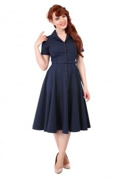 Caterina Vintage Swing Dress