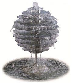 'Spiral Orb' Water Feature - modern - indoor fountains - brisbane - by Nova Deko