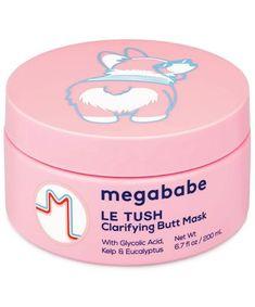 Megababe Le Tush Butt Mask, $22 Azelaic Acid, Alpha Hydroxy Acid, Green Tea Extract, Salicylic Acid, Acne Prone Skin, Lavender Oil, Shea Butter, Facials, Mysterious
