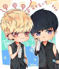 exo, kai, and tao image