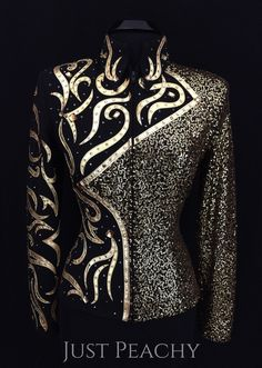 Gold and Black Jacket by Cassidy's Casuals ~ Ladies Medium/Large