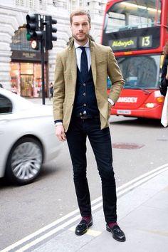 Cool Blazer #patterns #menswear #fashion