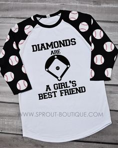 f083870f936 Baseball Sleeve Printed Raglan - Black Raglan Shirts