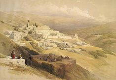 http://www.biblewalks.com/Sites/Annunciation.html Illustration of Nazareth, by David Roberts, 1839   Library of Congress