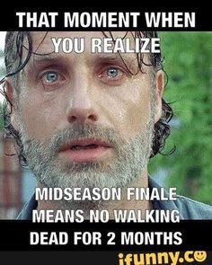 I don't even want to know why Rick looks like this.  This show will be the death of me.