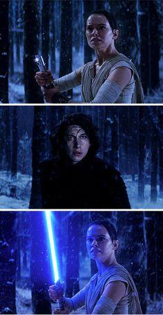 Star Wars - Rey & Kylo Ren