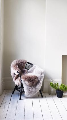 Nothing quite adds warmth, texture and a hint of luxe to a home than a sheepskin rug.