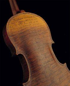Civil War Diary - Violin