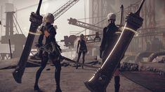 New NieR: Automata screenshots introduce '9S' and 'A2'   RPG Site