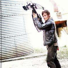 Daryl with crossbow