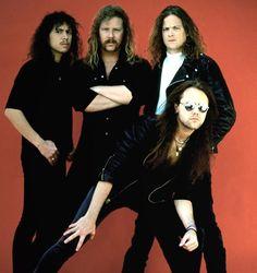 Kirk, James, Jason, Lars