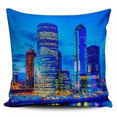 Cojin Decorativo Tayrona Store Ciudad Nocturna 38 - $ 43.900