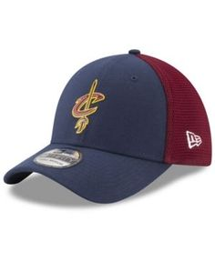 New Era Cleveland Cavaliers On Court 39THIRTY Cap - Navy/Red L/XL