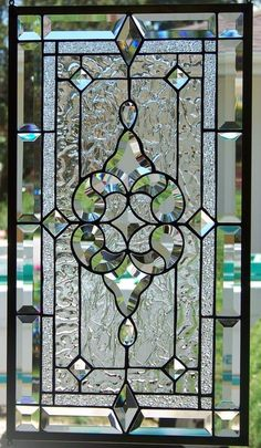 And more small windows, lead windows, leaded glass windows, stained glass. Stained Glass Door, Leaded Glass Windows, Stained Glass Designs, Stained Glass Panels, Stained Glass Projects, Stained Glass Patterns, Glass Doors, Leadlight Windows, Beveled Glass