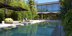 Trophée Or #piscine familiale forme angulaire : AGRETEC Piscines / CARRE BLEU   #FPPiscine #TropheesPiscine