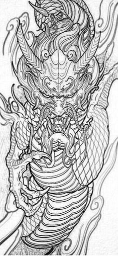 Gift ideas for cyclists [for all the bike lovers] Japanese Dragon Tattoos, Japanese Tattoo Art, Japanese Art, Tattoo Design Drawings, Tattoo Sketches, Aquarell Phönix Tattoo, Asian Tattoos, Arabic Tattoos, Art Vampire