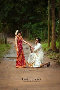 A fun-filled-filmy-style romantic photo shoot of this South Indian couple in their traditional attire in the beautiful southern Indian state of Kerala.  For more visit us at www.wedamor.com Photo Credits: Knots and Vows  #Wedamor #WeddingPlanner #KnotsAndVows #CandidPhotography #WeddingPhotography #IndianWeddings #IndianBride #IndianBeauty #BeautifulIndianBride #BrideandGroom #PreWeddingPhotography #IndianBrideAndGroom #BigFatIndianWedding #PhotoOfTheDay #PicOfTheDay #LoveMoments…