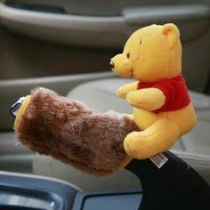 New Winnie The Pooh Car Handbrake Cover | eBay