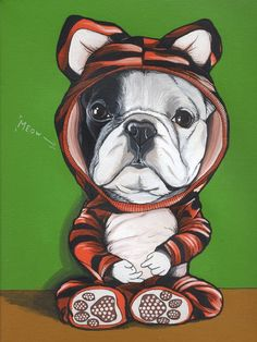 Healthy no-bake cat treats recipes from scratch cookies Bulldog Puppies, Dogs And Puppies, French Bulldog Art, French Bulldogs, Dog Calendar, Dog Illustration, Cat Treats, Mans Best Friend, Dog Pictures