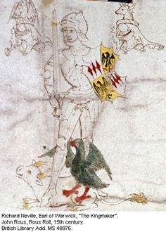 Richard Neville, Earl of Warwick, 'The Kingmaker' (1428-1471) [Wars of ...