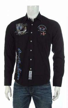 La Martina Men Polo Team Shirt Long Sleeve Black Size: M #LaMartina #Shirt