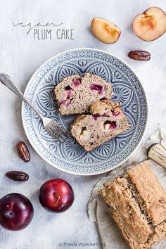 Vegan Plum Cake // Veganer Pflaumenkuchen • from Maras Wunderland