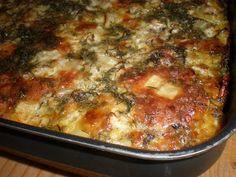 retete fara carne: musaca de cartofi si vinete Romanian Food, Romanian Recipes, Lasagna, Macaroni And Cheese, Food And Drink, Lunch, Vegan, Dishes, Cooking