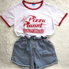Hillbilly Funny Pizza Planet Letter Printed Women Tshirt Harajuku Short Sleeved Summer Top Plus Size Elastic Basic t shirt Women Source by lelbruns disney outfits Cute Disney Outfits, Disney World Outfits, Disney Themed Outfits, Disneyland Outfits, Outfits For Teens, Trendy Outfits, Cool Outfits, Summer Outfits, Fashion Outfits