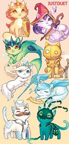 If league of legends characters were cats part 2