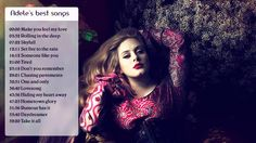 Adele ® Best songs of Adele (full album) ★★★ Adele's greatest hits 2014