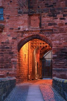 Carlisle Castle, Carlisle, Hadrian's Wall, Cumbria, UK