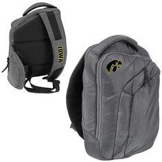 Logo Brand Iowa Hawkeyes Game Changer Sling Backpack, Multicolor
