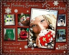 Join my team! November is one of our BEST selling months! Don't wait , JOIN  today!  Www.heathertrautner.scentsy.us