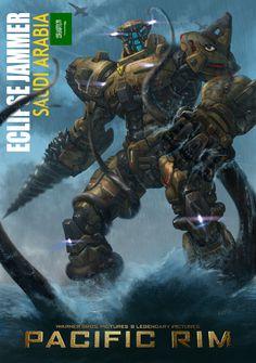 Robot Concept Art, Weapon Concept Art, King Kong, Godzilla, Science Fiction, Pacific Rim Jaeger, Legendary Pictures, Real Steel, Robot Design