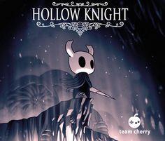 Hollow Knight Promo Image by teamcherry on DeviantArt Creepy Games, Team Cherry, Hollow Art, Hollow Night, Knight Games, Knight Art, Indie Games, Dark Art, Fantasy Art