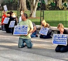 Saturday, September 29th, 22 people were arrested for praying – yes, praying – in front of the White House.#wake up America
