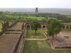 Another view of the Gandikota Fort with the Madhavaraya Temple in the background.