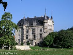 HOLLAND....VALKENBURG.  Kasteel Schaloen te Oud. The earliest records of the existence of Schaloen Castle date from 1381