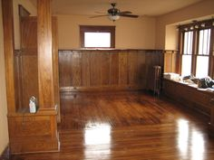 Red Oak Floors Stained With Early American By Minwax