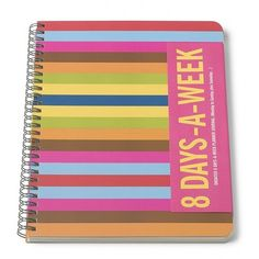 A beautiful planner to help you have an organized 2016.