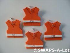 Mini Bright Life Vest SWAPS Kit for Girl Kids Scout makes 25