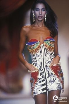 Sonia for Gianni Versace, Spring-Summer 1991, Couture