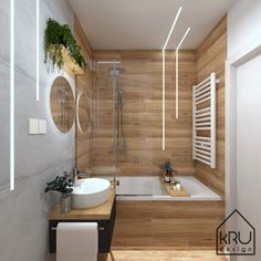 This unique photo is the most inspiring and really good idea Bathroom Design Luxury, Modern Bathroom Decor, Bathroom Design Small, Loft Design, House Design, Bathroom Color Schemes, Toilet Design, Upstairs Bathrooms, Beautiful Bathrooms