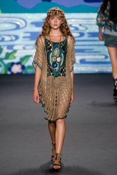 Anna Sui at New York Fashion Week Spring 2014 - Runway Photos