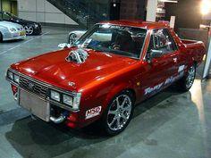 Subaru Brumby/Brat turbo custom