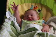 At 11 days old, my son already knows how to SIC' EM! Go #Baylor Bears! // #sicem