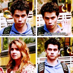 Loved this part! teen wolf 4x04 stiles and malia